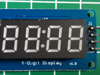 4 Digit 7 Segment Display