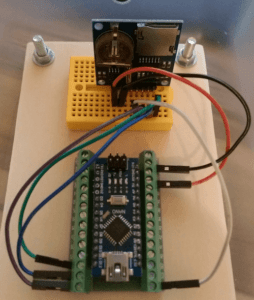 Data logger Shield am Arduino Nano