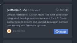 platformIO-ide for IoT