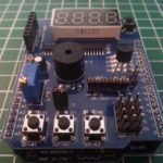 Temperatursensor LM35DZ auf dem Multifunktionalem Shield