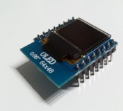 "Wemos D1 mini 0,66"" OLED Display"