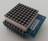 Wemos D1 mini Shield: 8x8 LED Matrix