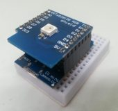 Wemos D1 mini mit RGB LED Shield