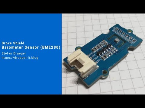 Grove Shield - Barometer Sensor (BME280)