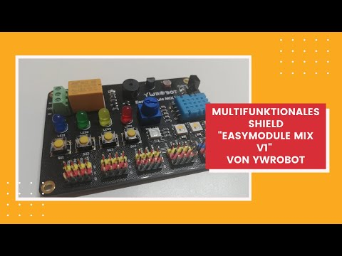 "Multifunktionales Shield ""Easy Module MIX V1"" von YwRobot"