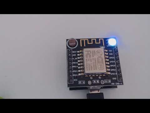ESP8266 ESP-12F Witty Cloud - WS2812
