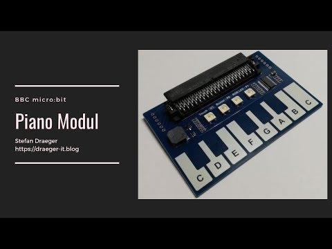 "BBC micro:bit Piano Board - Kinderlied ""Alle meine Entchen"""