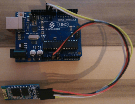 Arduino Lektion 21: Bluetooth Modul HC-06