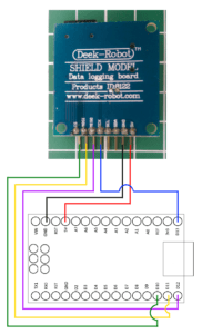 Data loggíng Shield am Arduino Nano