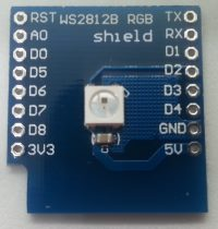 Wemos D1 R3 mini Shield - RGB LED