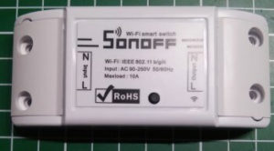 Sonoff Basic Wif Switch
