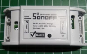 Sonoff Basic Wif Switch - Schraubklemmen