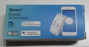 Sonoff Basic Wifi Switch - Verpackung