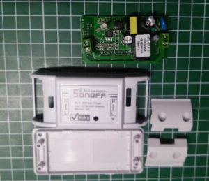 Sonoff Basic Wifi Switch - zerlegt