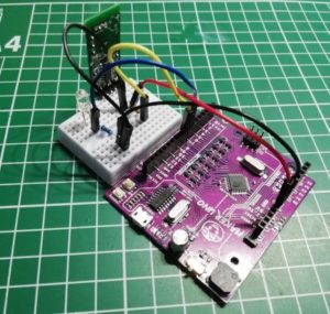 Radar Sensor RCWL-0516 am MakerUNO