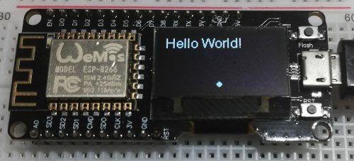 Arduino Tutorial 61: NodeMCU ESP8266 mit OLED Display