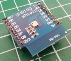 Wemos D1 mini Shield: BMP180 Shield