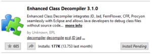 Eclipse Plugin - Enhanced Class Decompiler