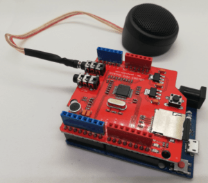 MP3 Shield mit Speaker und Arduino Leonardo