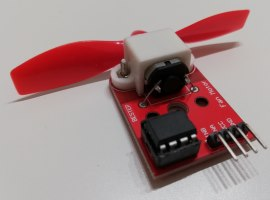 Arduino Lektion 74: Fan Motor Shield