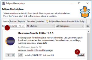 Eclipse Plugin - ResourceBundle Editor