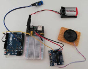 VoiceRecorder ISD1820 am Arduino
