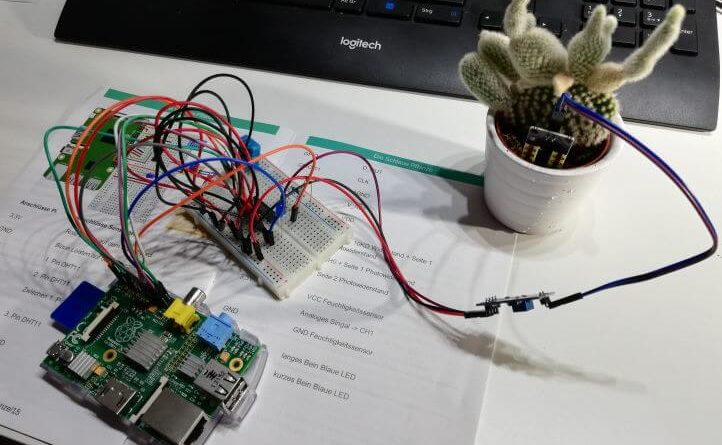 Raspberry PI - Smart Plant Kit