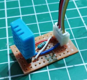 DIY DHT11 Shield mit Grove Connector Schnittstelle