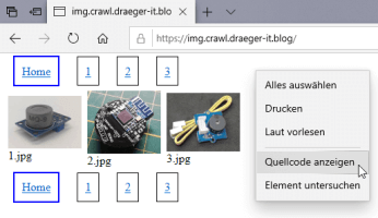 Beispielseite - image.crawl.draeger-it.blog