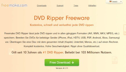 Freemake DVD Ripper