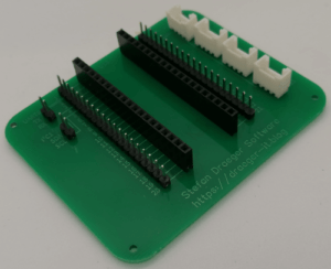 DIY Expansion Board für Raspberry PI Pico mit Grove Adapter