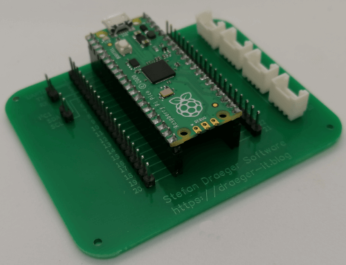 DIY Expansion Board für den Raspberry PI Pico mit Grove Adapter